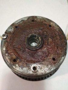 фото нерабочий соленоид насоса дозатора